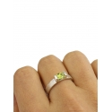 THREE Anillo Peridoto