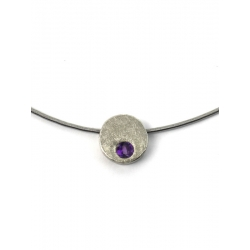 Collar MINITWO in purple