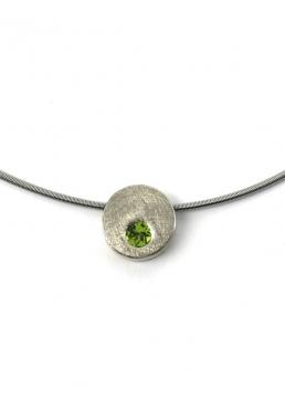Collar MINITWO in green