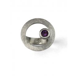 Anillo CIRCULAR TWO in colours purple