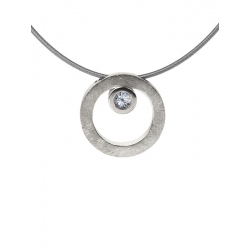 Collar CIRCULAR TWO in COLOURS white