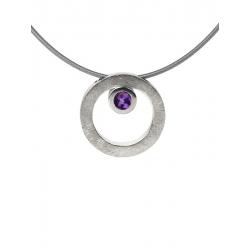 Collar CIRCULAR TWO in COLOURS purple