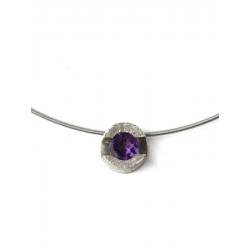 Collar FOUR in purple