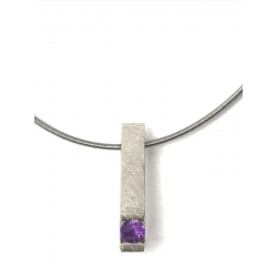 COLLAR LONG VENUS in purple