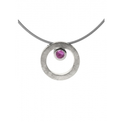 Collar CIRCULAR TWO in COLOURS pink