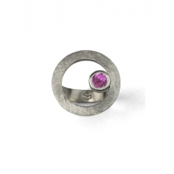 Anillo CIRCULAR TWO in colours pink
