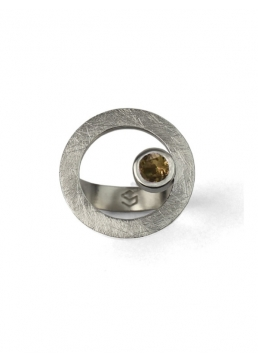 Anillo CIRCULAR TWO in colours brown
